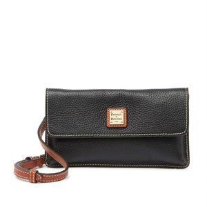 Dooney & Bourke Milly Black Leather Crossbody Bag